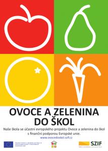 Plakát - Ovoce do škol