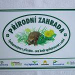 certifikát PŘÍRODNÍ ZAHRADA